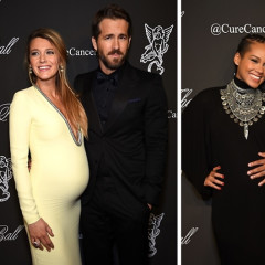 Blake Lively & Alicia Keys Both Show Off Their Baby Bumps At The 2014 Angel Ball In NYC