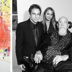 Ben Stiller, Chuck Close & Sting Support Artists For Peace & Justice At The Fierce Creativity Exhibition Preview