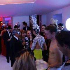 Inside Allison Sarofim and Stuart Parr's 2014 Futuristic Halloween Bash