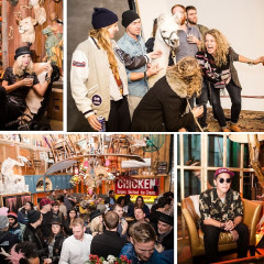 Williamsburg Cool Kids Party With A Llama At ACME Studio & Prop House