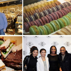 Guests Celebrate The Corrado Bread & Pastery Opening In NYC
