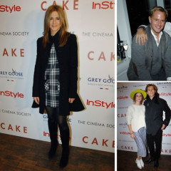 Jennifer Aniston, Justin Theroux & More Attend The Cinema Society Screening Of