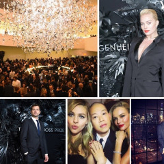 Kate Bosworth & Jason Wu Celebrate The 2014 Hugo Boss Prize Award At The Guggenheim