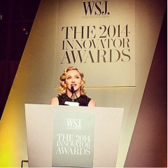 Madonna & Eminem Attend The WSJ. Magazine 2014 Innovator Awards