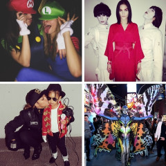 Instagram Round Up: Our Favorite Celebrity Snaps From Halloween 2014
