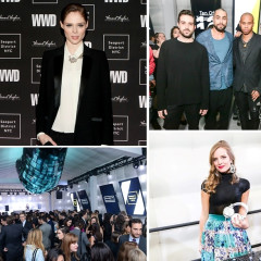 Coco Rocha Helps Celebrate The 2015 WWD Ten Of Tomorrow Honorees