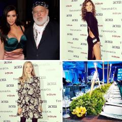 Bombshells Alessandra Ambrosio & Kim Kardashian Support Bruce Weber & Larry King At ACRIA's Holiday Dinner