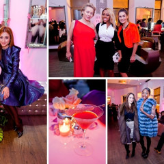 Inside The 2nd Annual NBA, NFL & MLB Wives Soiree AT Helen Yarmak Penthouse Showroom