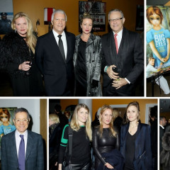Art World A-Listers Attend Screening For Tim Burton's New Film