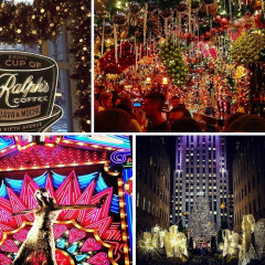 Instagram Round Up: Christmastime In New York City