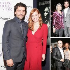 Jessica Chastain & Oscar Isaac Attend The Premiere Of
