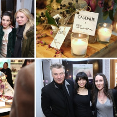 Alec & Hilaria Baldwin Attend The Caudalie Premier Cru Evening With EyeSwoon