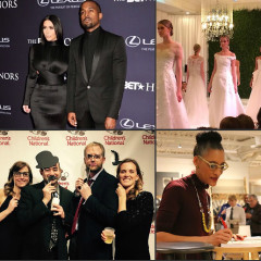 Last Night's Parties: Kanye and Kim at the BET Honors, Washingtonian Bride&Groom Presents