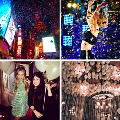 Instagram Round Up: NYC Celebrates NYE 2015