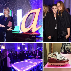 Kristen Stewart & Chloe Sevigny Support Stella McCartney At Her Autumn 2015 Presentation
