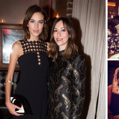 Alexa Chung Joins Justin O'Shea & Dirk Standen At The MyTheresa x Style.com NYFW Dinner