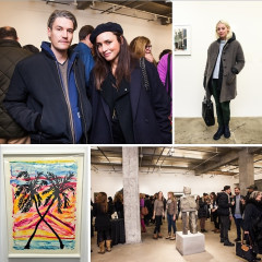 Nate Lowman & Cory Kennedy Kick Off The ScultpureCenter Benefit Exhibition