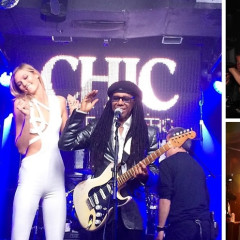 Karlie Kloss Gets Down To Disco With Nile Rodgers, Chic & V Magazine