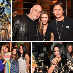 Michael Strahan & Jonathan Cheban Celebrate Asellina's 4-Year Anniversary