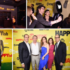 Inside The 'HAPPYish' Series Premiere & After-Party