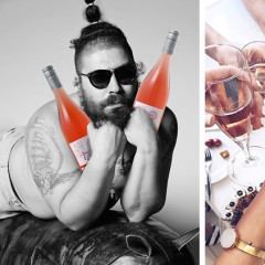 Good News For White Girls: The Fat Jew Has Your Rosé Covered
