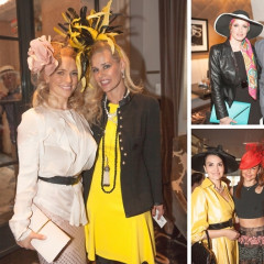 Inside Socialite Michelle-Marie Heinemann's 6th Annual Bellini & Bloody Mary Hat Party
