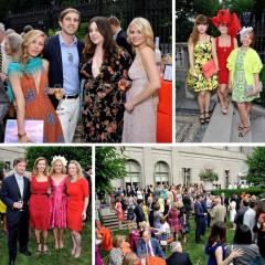 Inside The Frick Collection's Annual Spring Garden Party