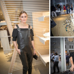 Olivia Palermo & Chelsea Leyland Kick Off The Opening Of Seaport Studios
