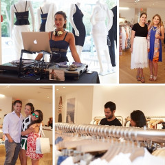 Inside The INTERMIX & Jonathan Simkhai Collection Celebration