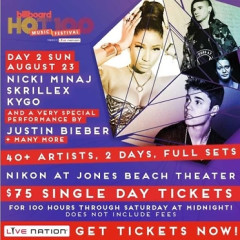 GofG Sweepstakes: Win 2 VIP Tickets To The Billboard Hot 100 Music Festival