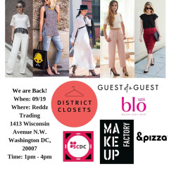 Guest of a Guest and Spicy Candy DC Host District Closets at Reddz Trading in Georgetown
