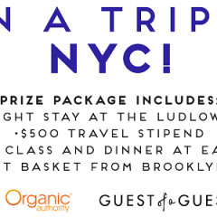 You're Invited: Win A Trip To NYC With Tasting Table!