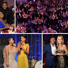 Heidi Klum & Usher Attend The 2015 Angel Ball At Cipriani Wall Street