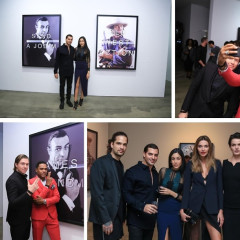 Maxwell Hosts The Opening Night Of Massimo Agostinelli's