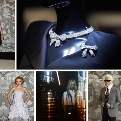 Cara Delevingne & Lily-Rose Depp Celebrate Chanel's Mademoiselle Prive Exhibition