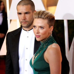The 87th Annual Oscars held at Dolby Theatre - Red Carpet Arrivals  Featuring: Scarlett Johansson, Romain Dauriac Where: Los Angeles, California, United States When: 23 Feb 2015 Credit: WENN.com  **Not available for publication in Germany**