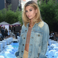 Hailey Baldwin Wore Uggs To A Pool Party