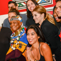 Belvedere Celebrates (RED) & South African Artist Esther Mahlangu