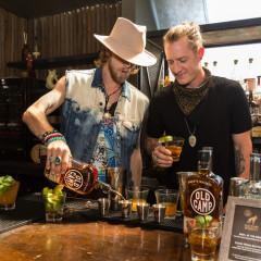 Florida Georgia Line Celebrates Old Camp Peach Pecan Whiskey In Los Angeles