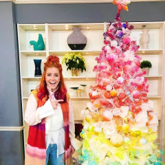 Rainbow Christmas Trees Are This Season's Big Trend