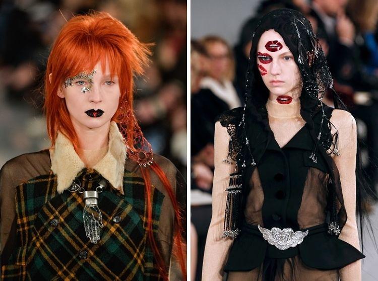 Maison Margiela Spring 2016 Couture Was A Surrealist Bowie Tribute