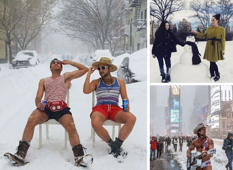 Instagram Round Up: New Yorkers Brave Blizzard Jonas