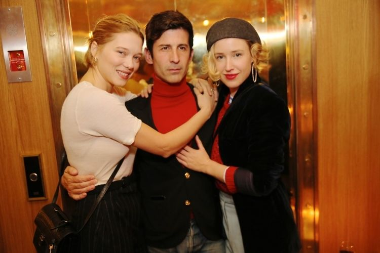 Léa Seydoux Joins André Saraiva & More For A Dinner At The Hotel Grand Amour