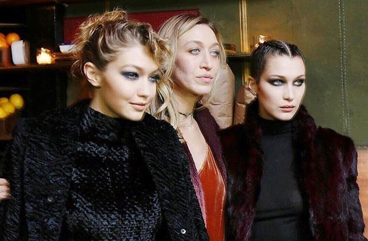Gigi & Bella Hadid Celebrate Big Sis Alana's New Collaboration With Lou & Grey