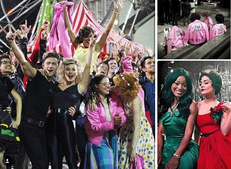Instagram Round Up: The Best Celebrity Shots From Grease: Live