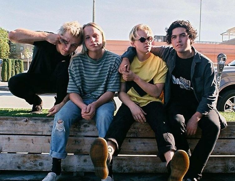 Meet Oakland Punk Band & Saint Laurent Muse, SWMRS