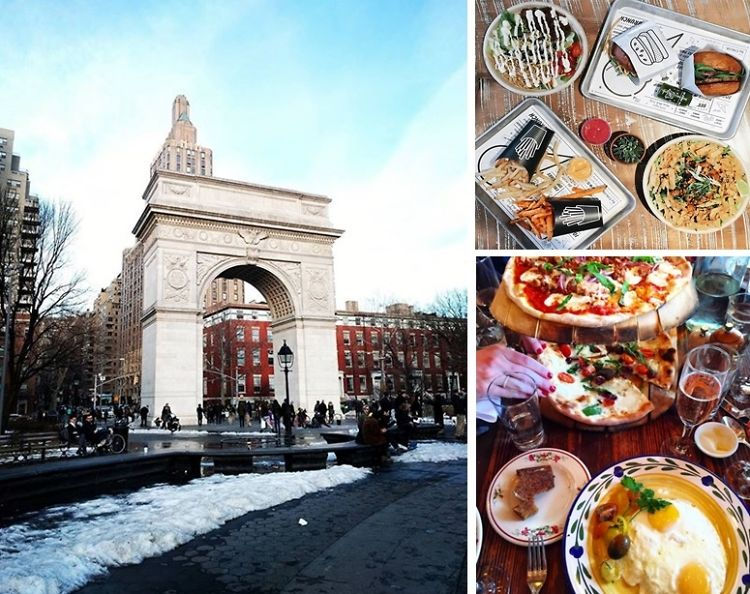 Your Guide To The Best Lunch Bites Around Washington Square Park