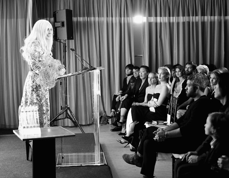 Lady Gaga, Gigi Hadid & Jennifer Lopez Stun At The Daily Front Row's Fashion Los Angeles Awards