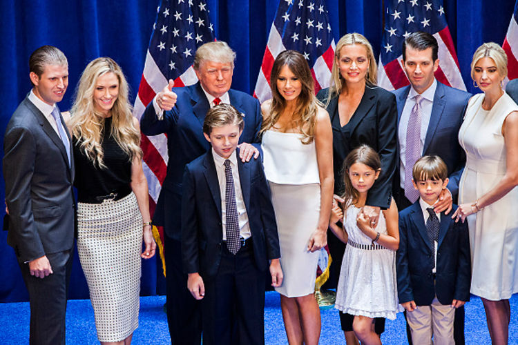 Donald Trump's Kids Aren't Even Voting For Him... No Really
