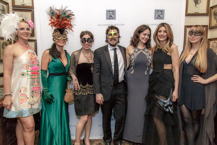 Inside The National Arts Club's Glamorous Masquerade Bash
